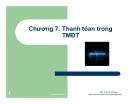Bài giảng Thương mại điện tử: Chương 7 - ThS. Trần Trí Dũng