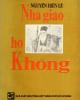 Ebook Nhà giáo họ Khổng - Nguyễn Hiến Lê