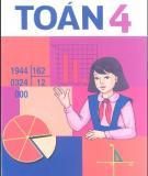 Ebook Sách giáo khoa Toán lớp 4: Phần 1 - NXB Giáo dục Việt Nam