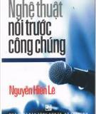 Ebook Nghệ thuật nói trước công chúng - Nguyễn Hiến Lê