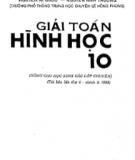 Ebook Giải Toán Hình học 10 - Trần Thành Minh (chủ biên)