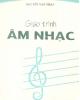 Giáo trình Âm nhạc - NXB ĐH Sư phạm
