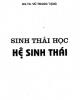 Ebook Sinh thái học Hệ sinh thái - GS.TS. Vũ Trung Tạng