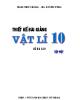 Ebook Thiết kế bài giảng Vật lí 10 Nâng cao: Tập 1 - Trần Thúy Hằng, Hà Duyên Tùng