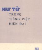 Ebook Hư từ trong tiếng Việt hiện đại: Phần 2 - Nguyễn Anh Quế