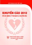 Ebook Khuyến cáo 2010 về các bệnh lý tim mạch & chuyển hóa - NXB Y học