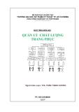 Giáo trình Quản lý chất lượng trang phục - ThS. Trần Thanh Hương