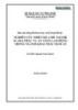 Báo cáo tổng kết khoa học: Nghiên cứu thiết kế, chế tạo hệ Scada phục vụ an toàn lao động trong ngành khai thác hầm lò