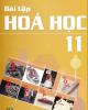 Ebook Bài tập Hóa học 11: Phần 1 - Nguyễn Xuân Trường (chủ biên)
