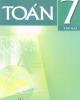 Ebook Toán 7: Tập 2 (Phần 1) - Phan Đức Chính (tổng chủ biên)