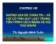 Bài giảng Triết học Mác-Lênin: Chương 8 - TS. Nguyễn Minh Tuấn