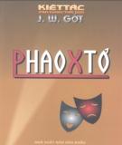Ebook Kiệt tác sân khấu thế giới Phaoxtơ: Phần 1 - J.W.Gớt