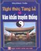 Ebook Nghi thức tang lễ và Văn khấn truyền thống: Phần 1 -  Trương Thìn