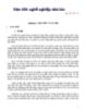 Đạo đức nghề nghiệp nhà báo  -  Bùi Huy Lan