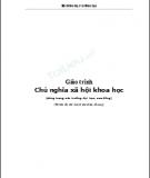 Giáo trình Chủ nghĩa xã hội khoa học - GS. TS. Đỗ Nguyên Phương, TS. Nguyễn Viết Thông (đồng chủ biên)