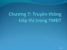 Bài giảng Thương mại điện tử: Chương 7 - ThS. Trương Việt Phương