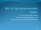Bài giảng Thương mại điện tử: Chương 2 - ThS. Trương Việt Phương