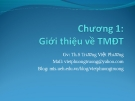 Bài giảng Thương mại điện tử: Chương 1 - ThS. Trương Việt Phương