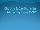 Bài giảng Thương mại điện tử: Chương 6 - ThS. Trương Việt Phương