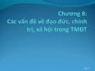 Bài giảng Thương mại điện tử: Chương 8 - ThS. Trương Việt Phương