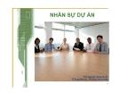 Bài giảng Quản lý dự án công nghệ thông tin: Chương 13 - ThS. Nguyễn Khắc Quốc