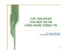Bài giảng Quản lý dự án công nghệ thông tin: Chương 1 - ThS. Nguyễn Khắc Quốc