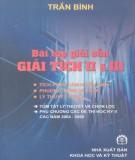 Ebook Bài tập giải sẵn giải tích II và III: Phần 1 – Trần Bình