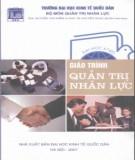 Giáo trình Quản trị nhân lực: Phần 1 – ThS. Nguyễn Văn Điểm, ThS. Nguyễn Ngọc Quản (chủ biên)