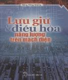 Ebook Lưu giữ và điều hòa năng lượng trên mạch điện - Đặng Hồng Quang