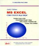 Giáo trình MS Excel cho Toán đại học: Phần 1 - TS. Nguyễn Phú Vinh (ĐH Công nghiệp TP.HCM)