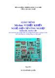 Giáo trình Vi điều khiển - Nghề: Điện tử công nghiệp - Trình độ: Trung cấp (Tổng cục Dạy nghề)