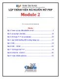 Giáo trình Lập trình viên mã nguồn mở PHP (Module 2) - TTTH ĐH KHTN
