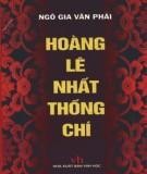 Ebook Hoàng Lê nhất thống chí: Phần 1 – Ngô Văn Gia Phái