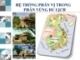 Bài giảng Hệ thống phân vị trong phân vùng du lịch
