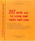 Ebook 217 quốc gia và lãnh thổ trên thế giới: Phần 1 - TS. Nguyễn Quán