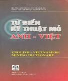 Ebook Từ điển kỹ thuật mỏ Anh Việt: Phần 1 - NXB Khoa học và Kỹ thuật