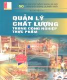 Ebook Quản lý chất lượng trong công nghiệp thực phẩm: Phần 1- Hà Duyên Tư (ĐH Bách khoa Hà Nội)