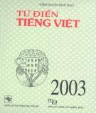 Ebook Từ điển tiếng Việt: Phần 1 – Viện ngôn ngữ học