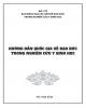 Giáo trình Hướng dẫn quốc gia về đạo đức trong nghiên cứu y sinh học: Phần 1 - PGS. Lê Thị Luyến, TS. Nguyễn Ngô Quang