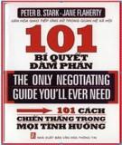 Ebook 101 Bí quyết đàm phán thành công - Peter B Stark & Jane Flaherty