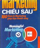 Ebook Marketing chiều sâu - 100 chân lý Marketing giúp bạn thành công - NXB Lao động Xã hội