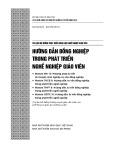 Module MN 13: Phương pháp tư vấn về chuyên môn nghiệp vụ cho đồng nghiệp
