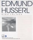 Ebook Tủ sách Triết học phương Tây - Edmund Husserl: Phần 1 - NXB Thuận Hóa