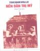 Ebook Nền dân trị Mỹ: Tập 1 (Phần 1) - Alexis De Tocquevile