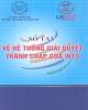 Ebook Sổ tay về Hệ thống giải quyết tranh chấp của WTO: Phần 2 - Ủy ban Quốc gia về Hợp tác Kinh tế Quốc tế