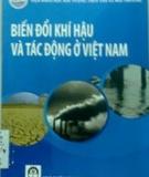 Ebook Biến đổi khí hậu và tác động ở Việt Nam - Viện Khoa học Khí tượng Thủy văn và Môi trường