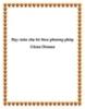 Dạy toán cho bé theo phương pháp Glenn Doman