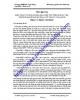 Đề cương nghiên cứu khoa học: Biện pháp nâng cao hiệu quả học tập trong sinh viên trường Cao đẳng Sư phạm Kỹ thuật Vĩnh Long - Nguyễn Thị Anh Thư