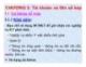 Bài giảng Nguyên lý kế toán - Chương 3: Tài khoản và ghi sổ kép