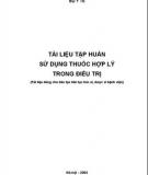 23   Tai lieu tap huan su dung thuoc hop ly trong dieu tri